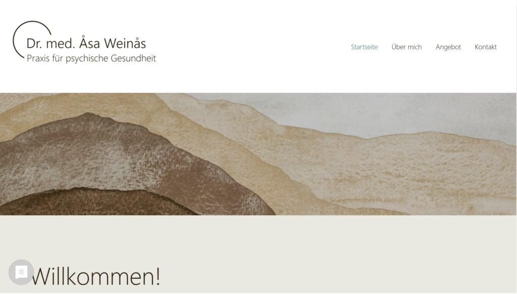 Website Dr. Weinas